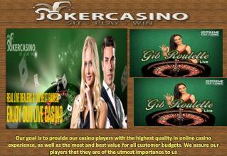 Beste Online Casino, Casino Bonus