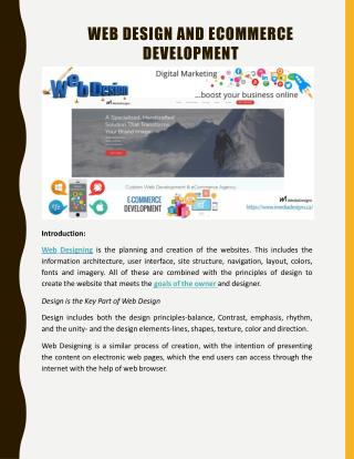 Web Design and App Development IMediadesign