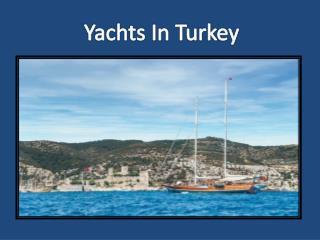 yacht charter group turkey