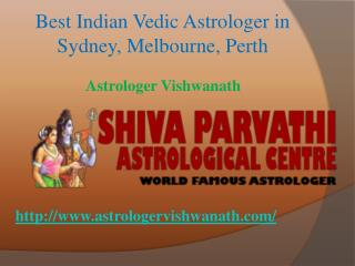 Best, Famous & Top Indian Vedic Astrologer in Sydney,Melbourne