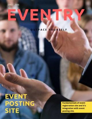 Eventry -Event Posting Site.