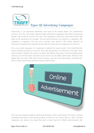Best Qualities of the Commercial, Campaigns advertising agencies