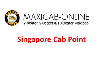Online maxi cab booking Singapore