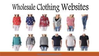 Wholesale Clothing Websites