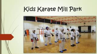 Kids Karate Mill Park