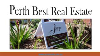 Perth Best Real Estate