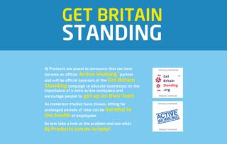'Get Britain Standing' Campaign - Everything you need to know