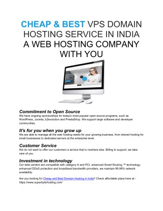 Best VPS Hosting Service Providers