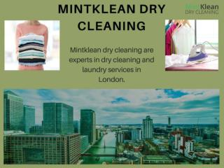 Dry cleaning Service in London -  Mintklean Dry Cleaning