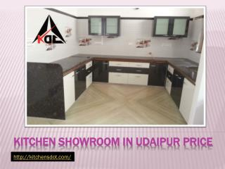 Kitchen Showroom in Udaipur price
