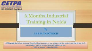 6 Months Industrial Training in Noida