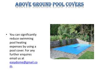 In Ground Pool Covers