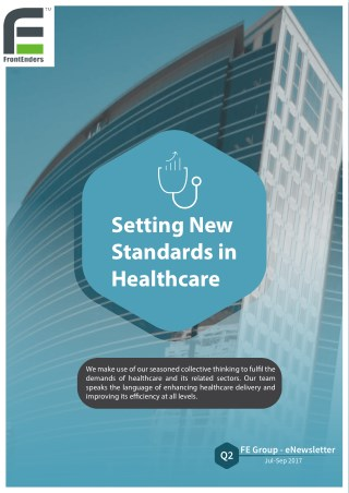 FrontEnders Healthcare Services eNewsletter Q2 Edition  July - September'17