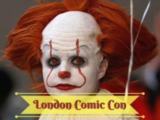 2017 London Comic Con