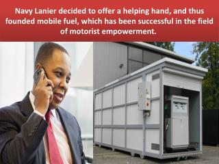 Navy Lanier - A Mobile Fuel Company Founder