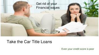 Car Title Loans Chilliwack