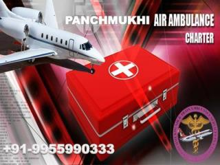 Low-Cost Air Ambulance from Chennai to Mumbai with Doctor Team