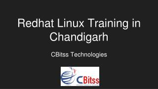 Redhat Linux training in Chandigarh