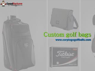 Custom golf bags usa