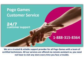 Pogo Contact Service Team Provide World Best Support!