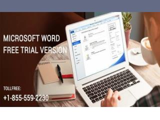 Microsoft Word Free Trial Version