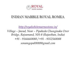 Indian Marble Royal Romea