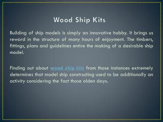 wood ship kits