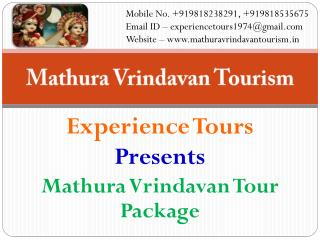 Mathura Vrindavan tour package by volvo bus
