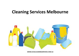 Cleaning Services Melbourne - Local Cleaning Services