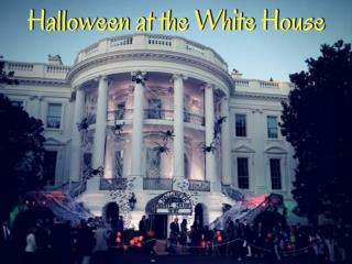 Trumps celebrated Halloween at the White House