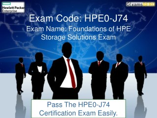 Get Verified HP HPE0-J74 Exam Dumps