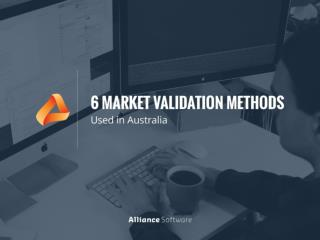 6 Ways to Do Market Validation for Your Startup