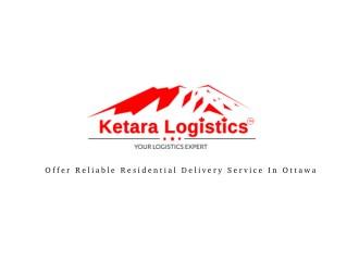 Ketara Logistics's Presentations on SlideServe