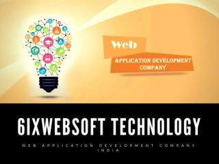 Web Application Development in India