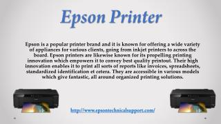 All in One Solution For Epson Printer