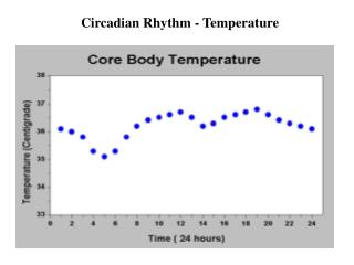 Circadian Rhythm - Temperature