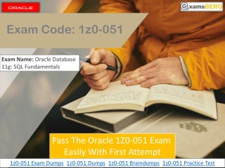 Download Oracle 1Z0-051 Dumps | 1Z0-051 Exam Dumps  | Examsberg