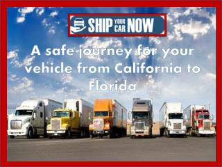 Ship car anywhere with affordable cost: