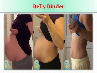 Belly binder