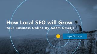How Local SEO Will Grow Your Business Online By Adam Umerji