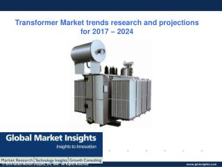 Transformer Market share research by applications and regions for 2017 � 2024