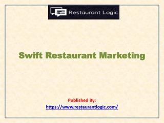 Swift Restaurant Marketing