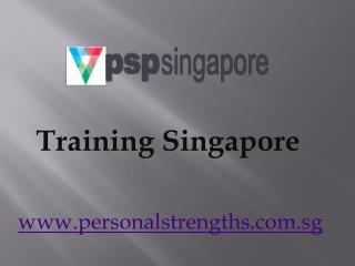Training Singapore- www.personalstrengths.com.sg