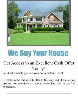 National homebuyers   Call us ( 08003687399)