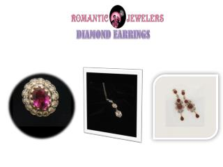 Latest Diamond Earrings from Romantic Jewelers