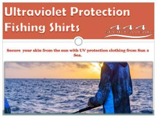 Ultraviolet Protection Fishing Shirts