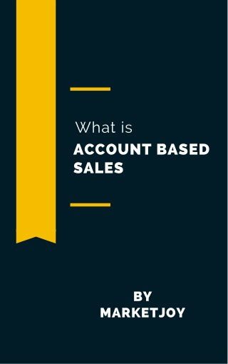 What is account based sales