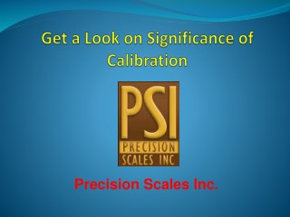 Get a Look on Significance of Calibration