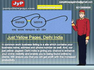 Just Yellow Pages Delhi, India