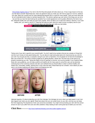 http://www.healthresortstoday.com/vitrixa-select-ageless-serum/